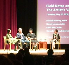So Happy - At the Metropolitan Museum NYC Great Discussion on Social Practice Art with Artists Rashida Bumbray, Miguel Luciano, Chloe Bass Museums In Nyc, Social Practice, Social Art, Social Justice, Metropolitan Museum, Sustainability, Conference, Bass, Chloe