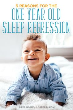 Is your toddler fighting sleep suddenly? Learn why the 1 year old sleep regression happens, as well as effective tips on what to do to get your child sleeping well again. Kids Sleep, Child Sleep, Baby Sleep, Mindful Parenting, Kids And Parenting, Children Will Listen, Child Development Stages, Ways To Fall Asleep, Sleeping Through The Night