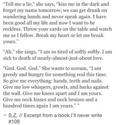 10 Excerpts From A Book I'll Never Write That Will Make You Laugh, Cry, Or Even Fall In Love