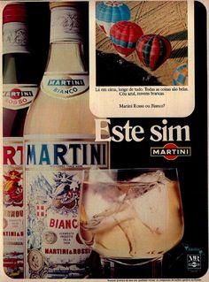 Martini Bianco #Brasil #anos70 #retro #vintageads #anunciosantigos #BrasilRetro
