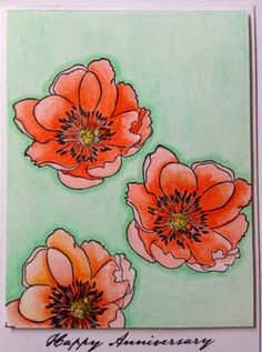 My Love,My Heart, My Art: Tim Holtz Flower Garden card