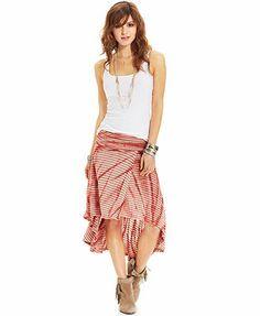 American Rag Printed Convertible Skirt