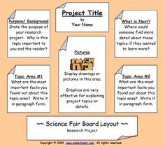 Professional Tri-Fold Poster Board Ideas | an example of a three ...