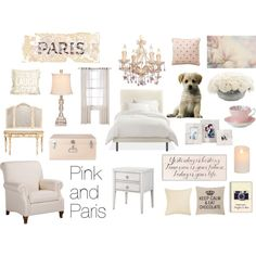 Pink and Paris bedroom                                                                                                                                                                                 More