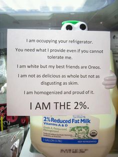 I am the 2%