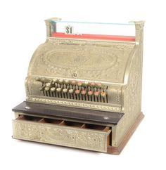 Vintage Cash Register by the National Cash Register Company