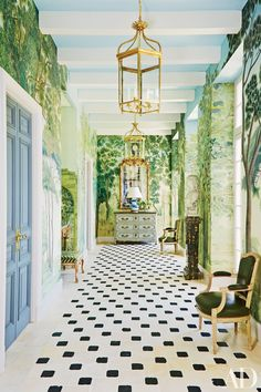 Hallways We Love That Were Designed By The 2016 AD100 Photos   Architectural Digest