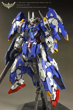 1/100 Avalanche Exia - Resin Conversion - Gundam Kits Collection News and Reviews
