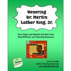 Dr. Martin Luther King, Jr. Video Resources is a packet of teaching strategies and printables created by Laura Candler to supplement a free video a...