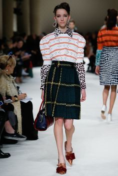 See the complete Miu Miu Fall 2015 Ready-to-Wear collection.