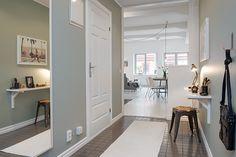 Blog wnętrzarski - design, nowoczesne projekty wnętrz: Dwupokojowe mieszkanie 60m2 urządzone w skandynawskim stylu