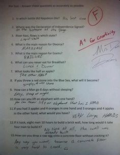 20 Students Who Totally Nailed It