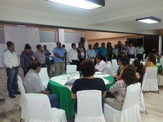 Sección 40 se reúne con secretarios delegacionales y de centro de trabajo
