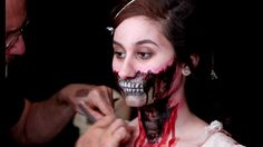 Pride and Prejudice and Zombies make up by Rick Baker