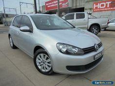 2009 Volkswagen Golf VI 90TSI Trendline Silver Manual 6sp M Hatchback #vwvolkswagen #golf #forsale #australia