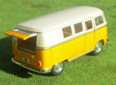 "VW Bus T 1 ""Bulli""  Maßstab ca. 1:32 mit Rückziehmotor Volkswagen Transporter, Audi Rs, Citroen Ds, Hot Wheels, Golf 1 Gti, Vw Modelle, Vw Passat Variant, T2 Bus, Panzer"