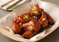 Sweet and Savory Wings Chicken Appetizer