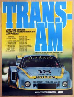 org-Porsche-Plakat-Renn-Poster-034-Trans-Am-034-1979-siegt-5-x-Porsche-935
