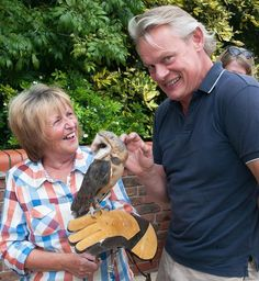 """Love the """"sly"""" look on his face. MC at the Weldmar Fete Sept 2014 Martin Clunes, Doc Martins, Tv, Outlander, Friends, Public, Mary, Entertaining, Amigos"""