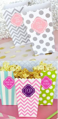 It's a Girl Baby Shower announcement Theme Decorations & Favor Bags Ideas in Pink that are cute & perfect for your princess. These Unique, Homemade, diy and perfect for gender reveal parties & Party. These Awesome best cheap, inexpensive on a budget diy Gifts that are perfect for kids, boys, girls, guests, princess, twins, children, little man & friends from mommy / mom, dad, aunt, parents, families etc. Our products include glasses, candies, diaper cake, candym gift boxes, decor etc.