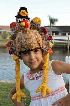 Display your love of Thanksgiving with my brand new Thanksgiving Turkey Crochet Hat. Your loved one will adore this crochet hat, perfect for Thanksgiving dinner or a fall photo shoot. And in the Autumn months, your kid will be the talk of the class when they shows up to school sporting this topper. This Turkey crochet hat is made with soft, durable acrylic yarn and features a 3-D amigurumi-style design that looks stunning from every angle. Your loved one (or you!) will adore this…