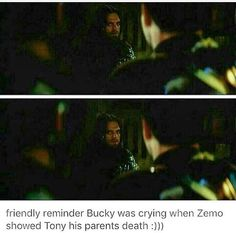 Bucky regrets something he couldn't control