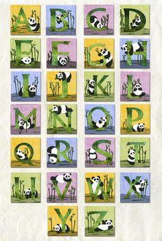alexagillu Panda Alphabet