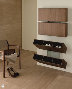shoe furniture. porada pit stop shoe rack canaletto walnut by tarcisio colzani furniture m