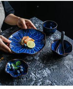 Wood Arrow, Fancy Kitchens, Blue Dinnerware, Kitchen Supplies, Kitchen Dining, Serving Bowls, Pottery, Ceramics, Dishes