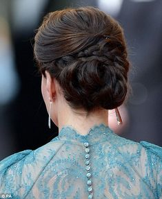 Carrie wedding hair idea...