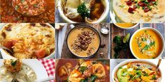 ~ The 50 Most Delish Fall Soups....Cold, stormy night? There's a soup for that.