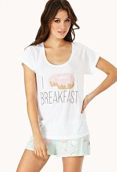 Breakfast Lover PJ Set  7b2c825aa