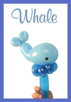 Nifty Balloons - Whale Bracelet / Headband, Balloon-Animals.com