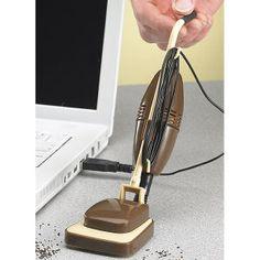 USB desk vacuum!