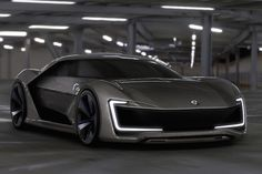 The future looks bright, and this beautiful Volkswagen sports car concept could make it even brighter.