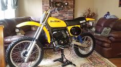 Motocross Bikes, Vintage Motocross, Vintage Motorcycles, Sport Bikes, Cars And Motorcycles, Suzuki Dirt Bikes, Suzuki Motorcycle, Dirtbikes, Classic Bikes