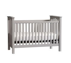 Kendall Low-Profile Fixed Gate Crib | Pottery Barn Kids