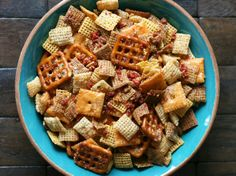 Blogger Corey Valley of  Family Fresh Meals shows you how to keep the kitchen cool during those hot months with this slow cooker Chex® cereal mix recipe.