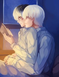 おやすみなさい ♡ ||| Sasaki and Arima ||| Tokyo Ghoul Fan Art by Pr912