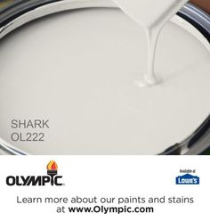 SHARK OL222 is a part of the grays & blacks collection by Olympic® Paint.