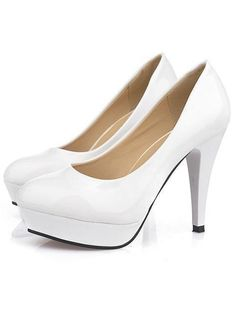 Stiletto Heels Round Casual Fashion Ladies Shoes