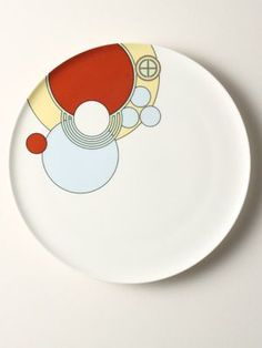 Playful Plate (Frank Lloyd Wright, c1916)