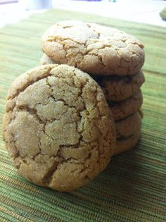 Speculoos Cookie Butter Cookies...LOVE LOVE LOVE Trader Joe's Cookie Butter...now I can take it to another level with making cookies out of it!!!!!