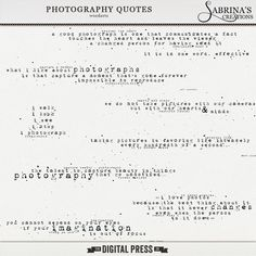 Photography Quotes  #wordart #photography