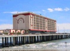 The late, great Flagship Hotel, Galveston Island, TX--destroyed by Hurricane Ike