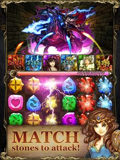 War Of Dragons App by FireMocha. Elimination Puzzle Game Apps.