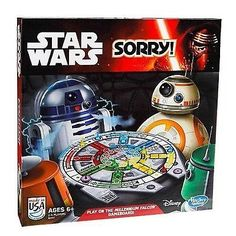 cool Sorry! Star Wars Edition Family Board Game 2014 Disney Hasbro - For Sale Check more at http://shipperscentral.com/wp/product/sorry-star-wars-edition-family-board-game-2014-disney-hasbro-for-sale/
