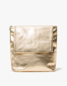 Colorblock Backpack in Gold