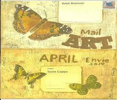 Mail art by Suzie's Art of ATC's For All Click to view original