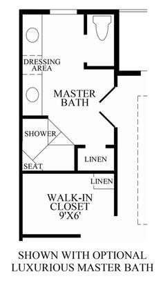 Master Bathroom No Tub modern master bathroom floor plans no tub ideas | master bathroom